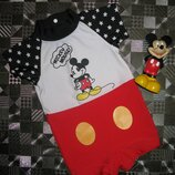 Купальный солнцезащитный костюм Мики Маус Mickey Mouse Disney 6-12мес