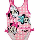 Розовый купальник Disney с Минни Маус на 1 и 1,5 года