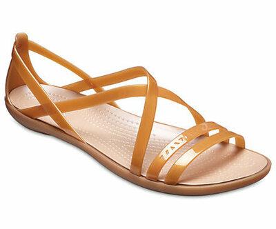 Босоножки Crocs Isabella Cut Strappy Sandal сандалии крокс изабэлла босоножки крокс w6 w7 w8 w9 w10