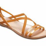 Босоножки Crocs Isabella Cut Strappy Sandal сандалии крокс изабэлла босоножки крокс все размеры