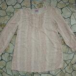 Блузка рубашка на девочку 6-7 лет