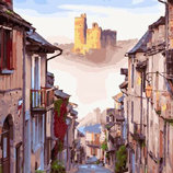 Картина По Номерам. BRUSHME УЛОЧКА Старого Города GX29242