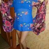 Пляжное платье туника р.48-50.
