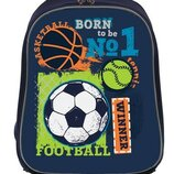Рюкзак школьный каркасный с отделением для ноутбука Football 557713