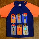 футболка для купания 5-6 лет девочке 116 рост