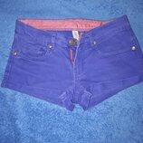 Женские шорты, цвет фиолетовый р.32,34 Denim Co