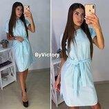 Платье в полоску 42,44,46,48 размеры 3 цвета