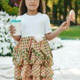 Платье нарядное на рост 98, 104, 110, 116 см, арт.ML-005-05/2-G