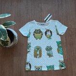 Блузка летняя совы