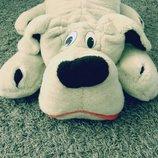 Мягкая игрушка собака собачка большая Левеня