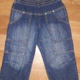 Джинсовые шорты, бермуды р.134-140 Benetton