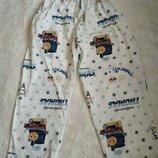 Штанишки пижамные 5-6 лет