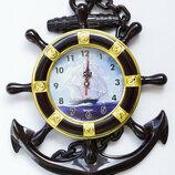Часы настенные Якорь Штурвал