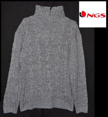 Брендовий светр чоловічий акриловий NGS Authentic Gear XL-XXL Німеччина свитер мужской