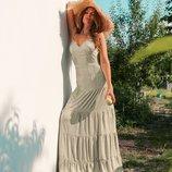 Красивое легкое платье «Богиня» четыре расцветки