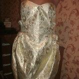 Шикарное Платье-Бюстье mis-behave vintage размер 12, евро 38, наш 44, новое