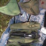 Складные стульчики в чехле на рыбалку