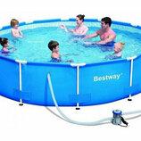 Каркасный бассейн Bestway, 366х76 см, насос 6473 л