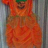 Хеллоуин карнавальное платье тыква