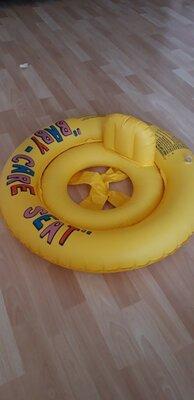 Круг - плот для плавания.