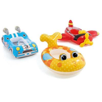 Детский надувной плотик Рыба 59380F Плотик-Самолет 59380A
