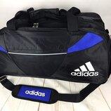Большая дорожная сумка Adida s . Спортивная сумка с отделом для обуви Ксс30-1