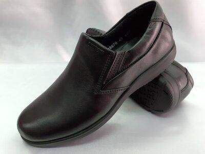 Скидка кожаные комфортные туфли Bertoni 40,41,42,43,44,45р.