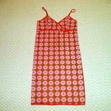 винтажное ночное нейлоновое платье-ночнушка-платье в бельевом стиле