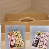 Ящик-Поднос для цветов и подарка