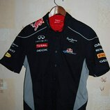 Рубашка футболка - поло pepe jeans red bull racing formula one team ,оригинал, на 52 - р-р