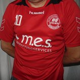 Спортивная фирменная футбольная футболка Hummel.л .