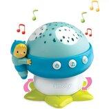 Smoby Музыкальный проектор Грибочек голубой 110109 Cotoons nitch musical mushroom