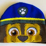 Детская шапка для мальчика щенячий патруль, Гонщик
