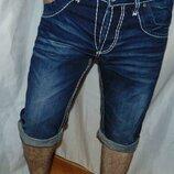 Стильние фирменние джинсовие шорти капри бриджи Camp David.л .33-32