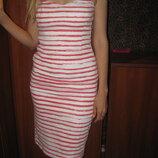 Симпатичное женское платье без лямок. Размер 40- 44