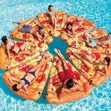 Пляжный надувной матрас плот Intex 58752 Пицца, 175х145 см
