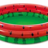 Детский надувной бассейн «Арбуз» Intex
