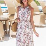 Нежное легкое платье «Тоскана» четыре расцветки