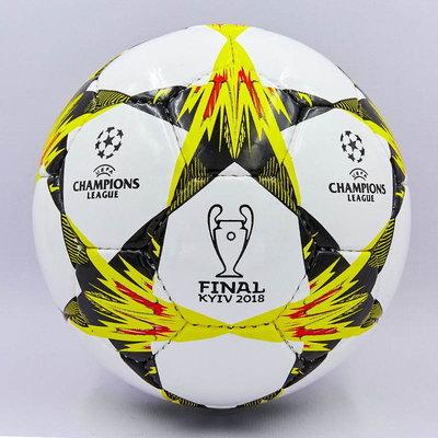 Мяч футбольный 3 Champions League Final Kiev 0102 PU, сшит вручную