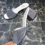 Распродажа Мюли каблук расцветки