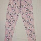 Пижамные розовые штаны Sanrio на девочку 7-8 лет. Рост 122-128 см.