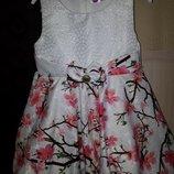 Нарядное платье Турция балеро 2 г