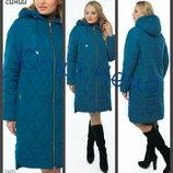 50-60 пальто болоневое демисезонное, ботал, Женское пальто, пальто жіноче демісезонне