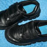 Кожанные туфли clarks кларкс отличное состояние