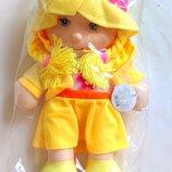 Большая музыкальная кукла,рус.язык,45см,говорящая кукла,куклы,пупсы,лялька,мягкая кукла