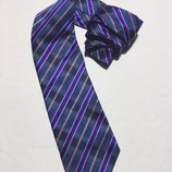 Мужской галстук gucci Гучи идеал оригинал синий