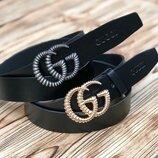 Женский кожаный ремень Gucci нш 432