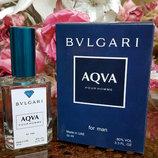 Мужской парфюм Bvlgari Aqua pour homme тестер 50 ml булгари аква пур хом Diamond Оаэ
