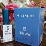 Givenchy pour Homme Blue Label живанши блу лейбел мужской парфюм тестер 50 ml Diamond Оаэ