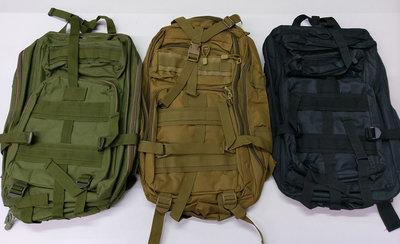 Рюкзаки тактические - олива или черный цвет